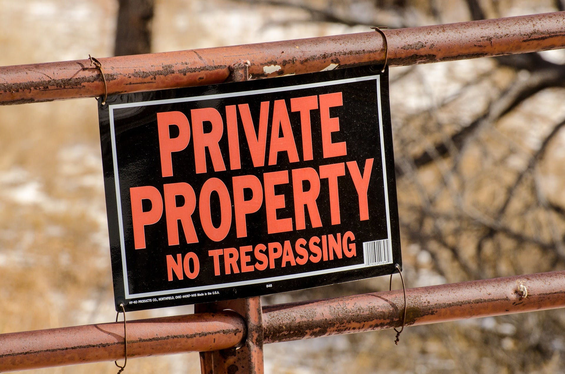 Private property liability